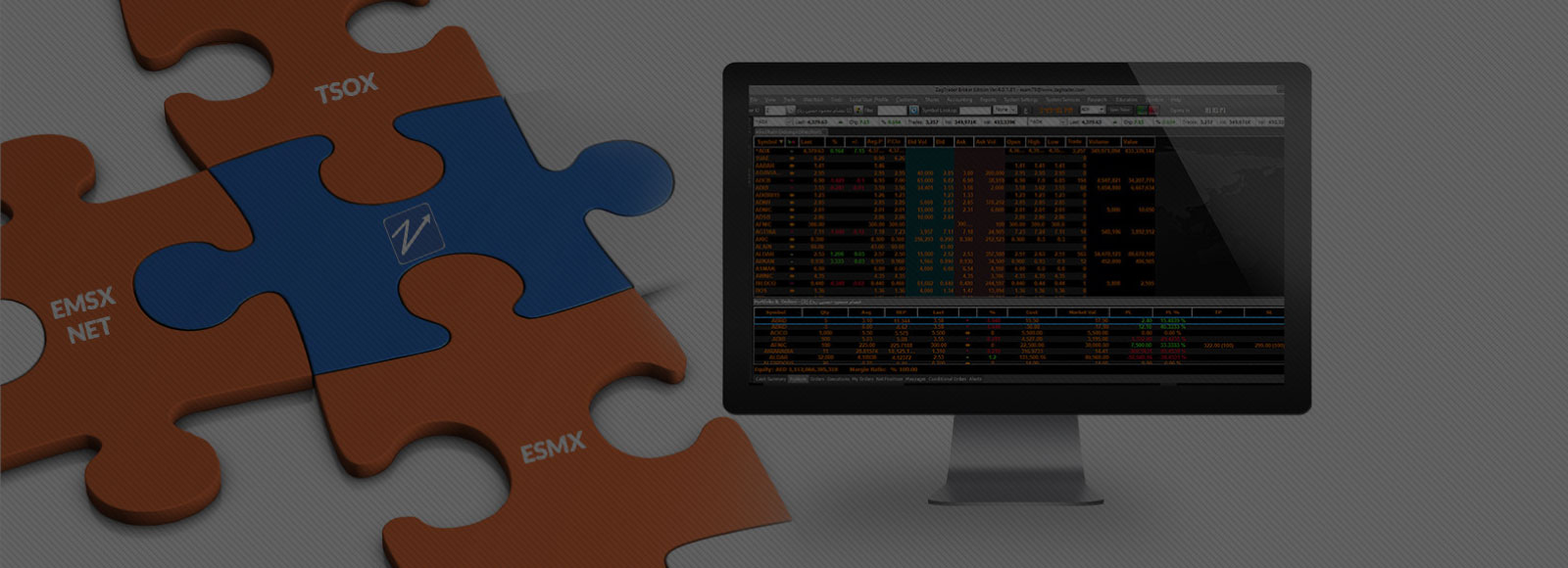 ZagTrader speaks Bloomberg EMSX, TSOX, and EMSX NET fluently